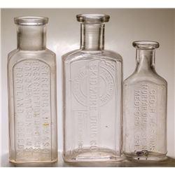 Oregon Drug Store Bottles