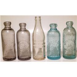 Utah Soda Bottle Collection