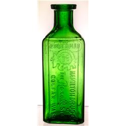 Hamilton Drug Store Bottle, Colfax, WA