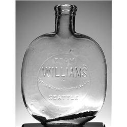 Seattle Flask: WILLIAMS, Pumpkinseed whiskey
