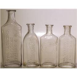 Washington Drug Store Bottles