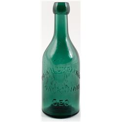 H. UMBACH & CO., Savannah Pictorial Soda Bottle