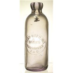 Oklahoma Territory, Start Bottling Works