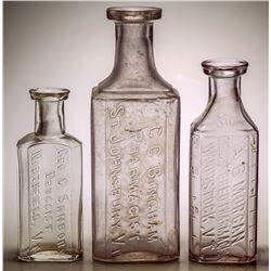 Vermont Drug Store Bottles