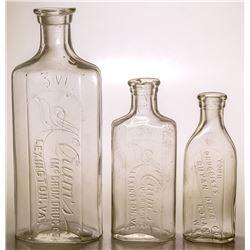 Virginia Drug Store Bottles