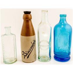 Four Nice Old Bottles