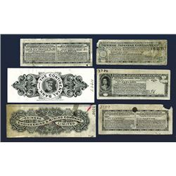 Waterlow & Sons, ca.1900-1920 Proof Banknote and Fiscal Document Material and Coupons.