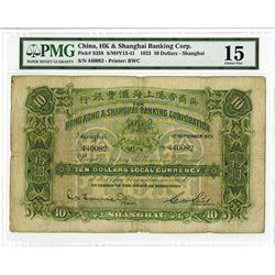 Hong Kong & Shanghai Banking Corporation 1923 Issue Banknote.