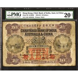 Chartered Bank of India, Australia & China, 1924-29 Issue.
