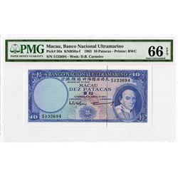 Banco Nacional Ultramarino, 1963, Issued Banknote