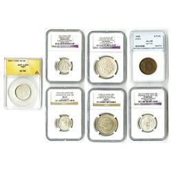 Asian Graded Coin Assortment.
