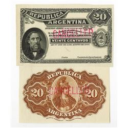 Republica Argentina, 1895 Progressive Engraving Proofs