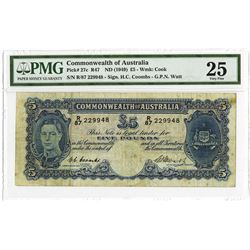 Commonwealth of Australia, ND (1949), Issued Note
