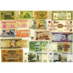 Various Issuers, 1991-1997, Group of 20 Notes from the Russia & Neighbors