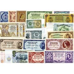 Various Issuers, 1940s-50s, Lot of 23 Notes