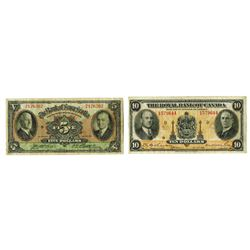 Royal Bank of Canada, 1935, Pair of Issued Notes
