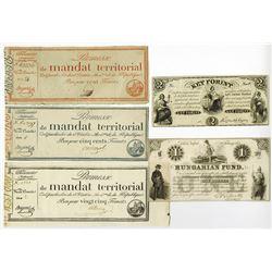 Promesses De Mandats Territoriaux, 1796 Issue.