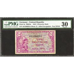 Germany, Allied Occupation, 1948, First Issue.