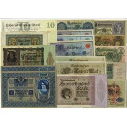 Various Issuers, 1900s-20s, Group of 40 Issued Notes