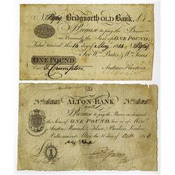 Great Britain Town Banks ca.1814-15.