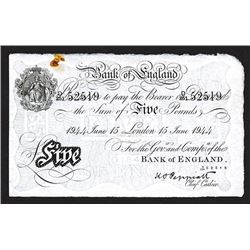 Bank of England, 1944 Issue.
