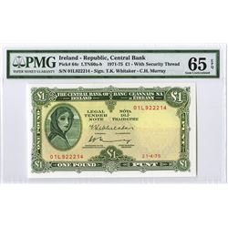 Central Bank of Ireland, 1975, Issued Note