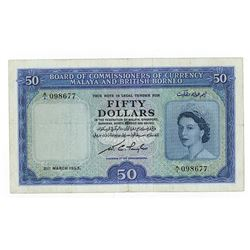 Board of Commissioners of Currency, 1953 Issued Banknote.