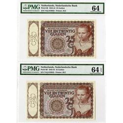 Nederlandsche Bank, 1943-44, Sequential Pair