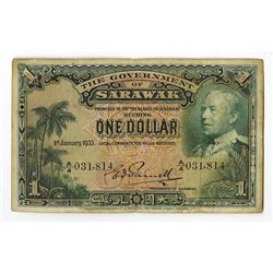 Government of Sarawak, 1935 Issue.
