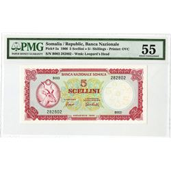 Banca Nazionale Somalia, 1966, Issued Note