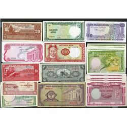 National Bank of South Viet Nam. 1955-70 ND Issues.