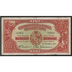 Government of Tonga, Treasury Note.