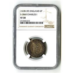 England: Charles I, 1625-1649,