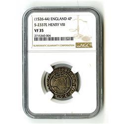 England: Henry VIII, 1509-1549,