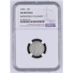 United States: Philadelphia Mint, 1836 10 Cents,