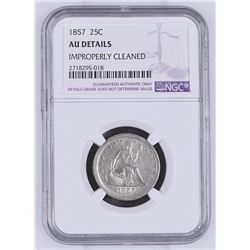 United States: Philadelphia Mint, 1857 25 Cents,