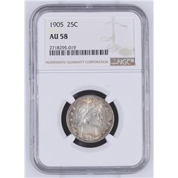 United States: Philadelphia Mint, 1905 25 Cents,