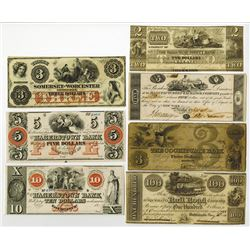 North Eastern Obsolete Banknote Assortment.