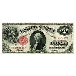 U.S. Legal Tender, $1, Series of 1917 Issue.