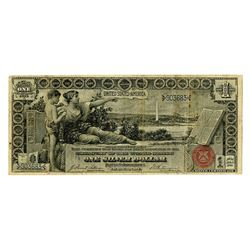U.S. Educational, 1896 Silver Certificate.