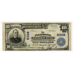 Peekskill National Bank, New York, $10, 1902 Plain Back, Ch#8398.
