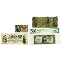 United States, Assortment of 5 Notes