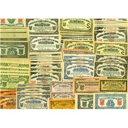United Cigar Stores Company of America, ND (ca. 1930s), Large Lot of 125+ Cigar Certificates
