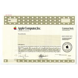 Apple Computer Inc., 1999 Specimen Stock.