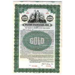Pathe Exchange, Inc., 1921 Specimen Bond