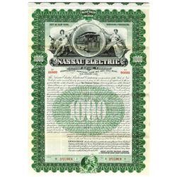 Nassau Electric Railroad Co., 1931 Specimen Bond
