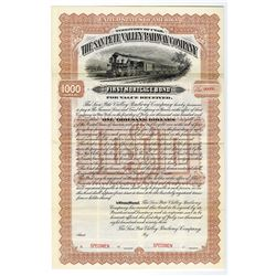 San Pete Valley Railway Co., Specimen Bond.