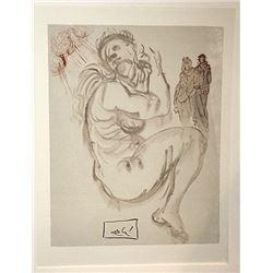 Dali - Purgatory Canto 19 - The Divine Comedy