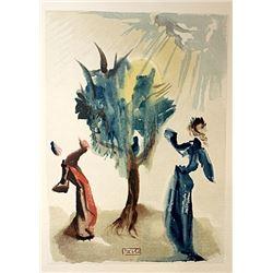 Dali - Purgatory Canto 24 - The Divine Comedy