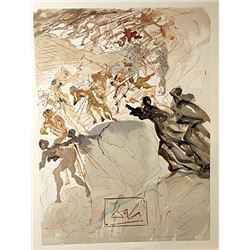 Dali - Purgatory Canto 25 - The Divine Comedy